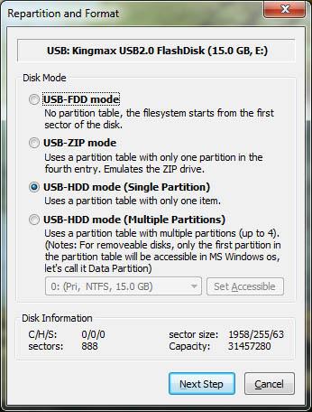 Создание установочной флешки с Windows XP